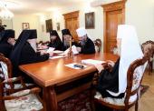В Киево-Печерской лавре состоялось очередное заседание Священного Синода Украинской Православной Церкви