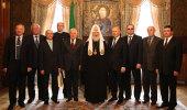 Святейшему Патриарху Кириллу вручена Национальная премия «Человек года» за 2009 год