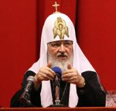 Слово Святейшего Патриарха Кирилла после вручения диплома почетного доктора Национального исследовательского ядерного университета «МИФИ»
