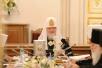 Визит Святейшего Патриарха Кирилла в Петербург. День первый.  Заседание Священного Синода Русской Православной Церкви.