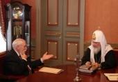 Святейший Патриарх Кирилл встретился с директором Музея древнерусской культуры и искусства им. Андрея Рублева