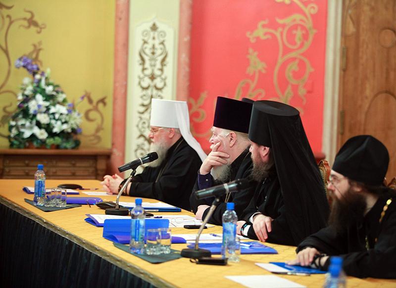 Первое заседание комиссии Межсоборного присутствия по вопросам церковного управления и механизмов осуществления соборности в Церкви
