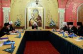 Управляющий делами Московской Патриархии провел первое заседание комиссии Межсоборного присутствия по вопросам церковного управления и механизмов осуществления соборности в Церкви