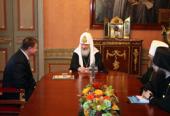 Встреча Святейшего Патриарха Кирилла с губернатором Тульской области