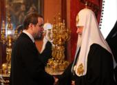 Святейший Патриарх Кирилл встретился с губернатором Тверской области
