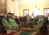 Патриаршее служение в неделю 4-ю Великого поста в Свято-Даниловом монастыре