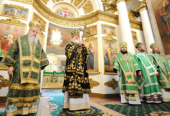 Слово Святейшего Патриарха Кирилла в неделю 4-ю Великого поста после богослужения в Свято-Даниловом монастыре