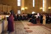 Патриарший визит в Армению. День второй. Церемония вручения Святейшему Патриарху Кириллу высшей награды Армянской Апостольской Церкви.