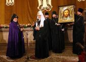 Речь Святейшего Патриарха Кирилла в кафедральном соборе святого Григория Просветителя в Ереване