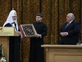 Святейший Патриарх Кирилл стал почетным доктором Ереванского государственного университета