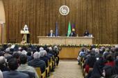 Предстоятель Русской Церкви посетил Ереванский государственный университет