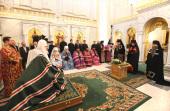 В Москве состоялось наречение архимандрита Вениамина (Тупеко) во епископа Борисовского, викария Минской епархии