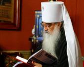 Патриаршее поздравление митрополиту Минскому Филарету с 75-летием со дня рождения