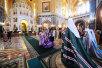 Патриаршее служение в неделю 5-ю Великого поста в Храме Христа Спасителя. Хиротония архимандрита Вениамина (Тупеко) во епископа Борисовского, викария Минской епархии.