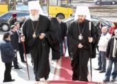 Председатель Отдела внешних церковных связей митрополит Иларион посетил Одессу
