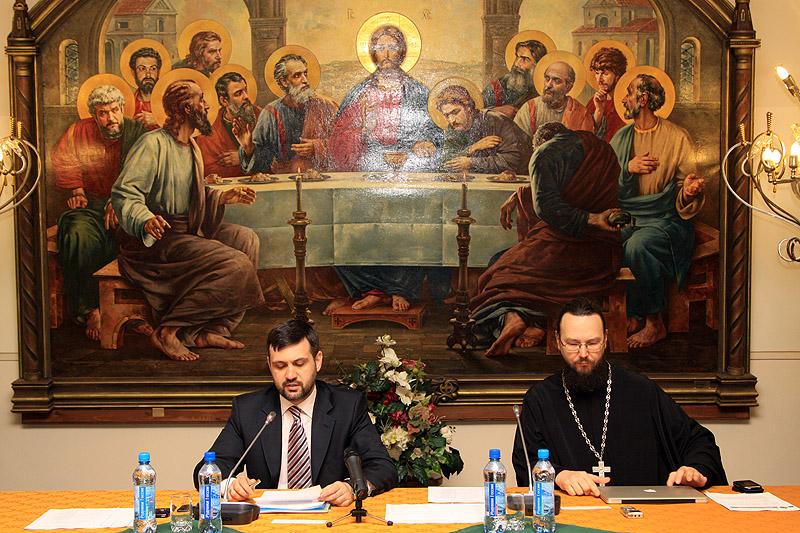 Первое заседание Комиссии по вопросам информационной деятельности Церкви и отношений со СМИ Межсоборного присутствия