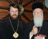 Состоялся визит митрополита Волоколамского Илариона в Константинопольский Патриархат