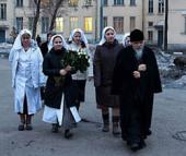 Председатель Синодального отдела по церковной благотворительности посетил в 1-й Градской больнице города Москвы пострадавших в результате теракта