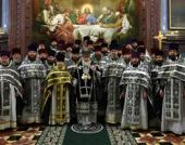 К празднику Святой Пасхи Святейший Патриарх Кирилл наградил ряд клириков г. Москвы