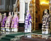 Патриаршее слово в Великий четверг в Храме Христа Спасителя