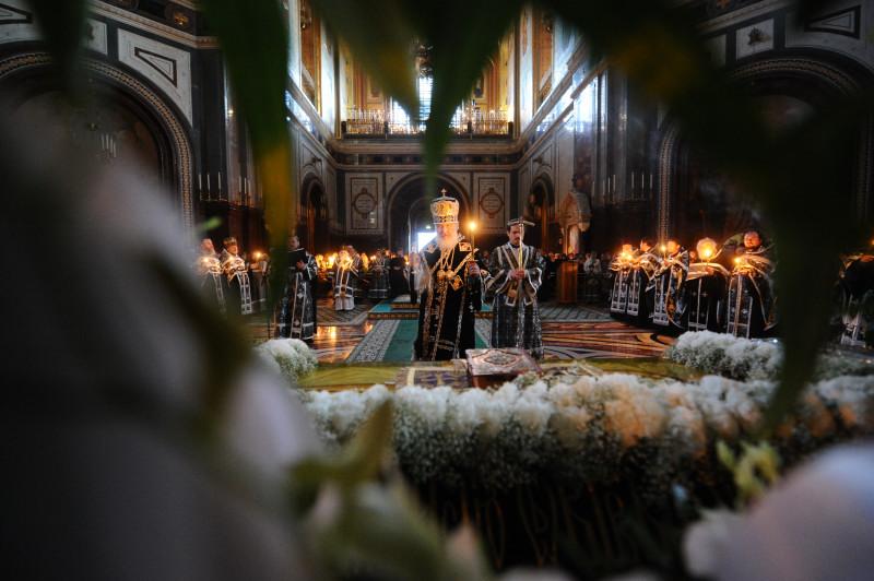 Утреня Великой субботы в Храме Христа Спасителя