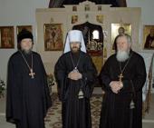 Митрополит Волоколамский Иларион посетил Патриарший центр древнерусской богослужебной традиции