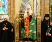 Слово Святейшего Патриарха Московского и всея Руси Кирилла после молебна в Благовещенском кафедральном соборе Александрии