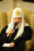 Встреча Святейшего Патриарха Кирилла с Патриархом Коптской Церкви Шенудой III