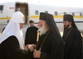 Завершился визит Святейшего Патриарха Кирилла в Александрийскую Православную Церковь