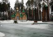 Предстоятель Русской Церкви посетил монастырь во имя святых Царственных страстотерпцев в урочище Ганина Яма близ Екатеринбурга