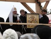 Слово Святейшего Патриарха Кирилла в Алапаевском монастыре во имя свв. Новомучеников и исповедников Российских
