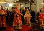 Предстоятель Русской Церкви совершил великое освящение нижней церкви Храма-на-Крови в Екатеринбурге