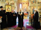 Святейший Патриарх Кирилл посетил Свято-Симеоновский кафедральный собор Челябинска
