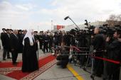 С 16 по 19 апреля состоялся визит Святейшего Патриарха Кирилла в Екатеринбургскую и Челябинскую епархии