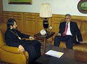 Председатель Отдела внешних церковных связей Московского Патриархата встретился с послом Парагвая в России