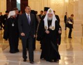 Состоялась встреча Святейшего Патриарха Кирилла с Президентом Азербайджана Ильхамом Алиевым