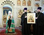 Слово Святейшего Патриарха Кирилла после Божественной литургии в кафедральном соборе святых Жен-мироносиц г. Баку