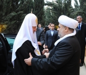 Предстоятель Русской Церкви посетил прием от имени шейх-уль-ислама Аллахшукюра Паша-заде