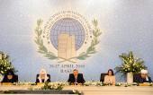 Святейший Патриарх Кирилл принял участие в открытии Всемирного саммита религиозных лидеров в Баку