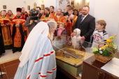 Митрополит Ювеналий: Церковь смогла показать всем, что способна достойно хранить историческую ценность