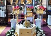 Состоялось отпевание и погребение епископа Ирийского Даниила