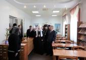 Святейший Патриарх Кирилл посетил Белгородскую духовную семинарию