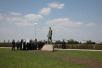 Патриарший визит в Белгородскую епархию. Посещение мемориала «Звонница» на Прохоровском поле.