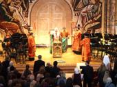 Святейший Патриарх Кирилл совершил литию по жертвам терактов в московском метрополитене и Кизляре