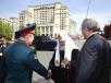 Возложение венка к могиле Неизвестного солдата у Кремлевской стены в канун 65-летия Победы в Великой Отечественной войне