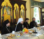 Ответы митрополита Волоколамского Илариона на вопросы студентов и преподавателей Сретенской духовной семинарии