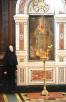Патриаршее служение в Храме Христа Спасителя в день 65-й годовщины Победы в Великой Отечественной войне