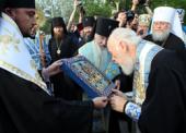 Курская Коренная икона Божией Матери «Знамение» принесена в столицу Украины