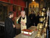 Митрополит Волоколамский Иларион прибыл в Италию