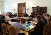 На московском подворье Троице-Сергиевой лавры состоялось очередное заседание комиссии Межсоборного присутствия по организации церковной миссии